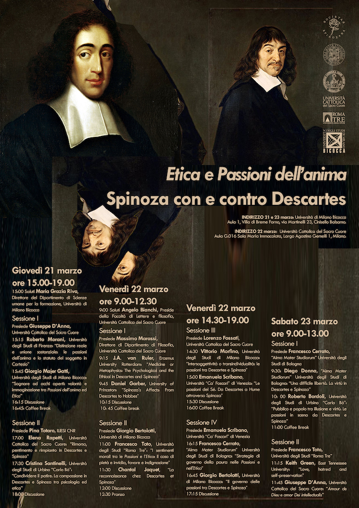 Spinoza con e contro Descartes