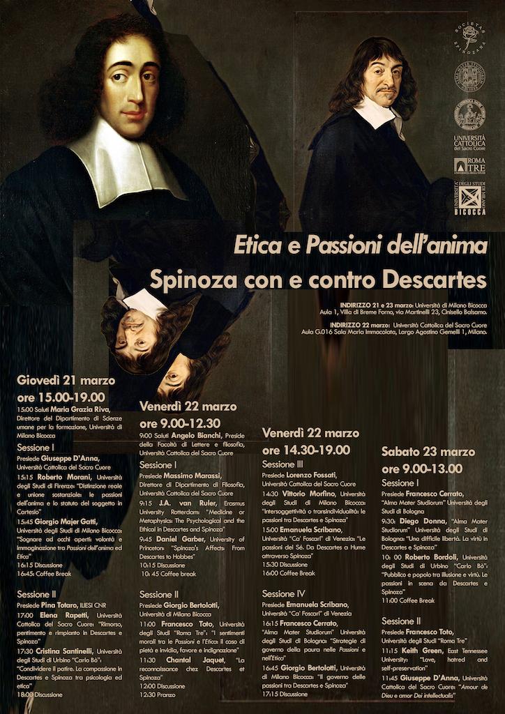 Spinoza con e contro Descartes